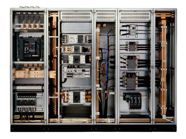 MV Distribution Panel Boards In Electrical Construction Works