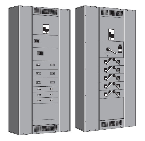 Floor mounted electrical Sub-Main Distribution Board (SMDB)
