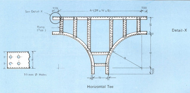 Cable Tray Accessories - Horizontal Tee