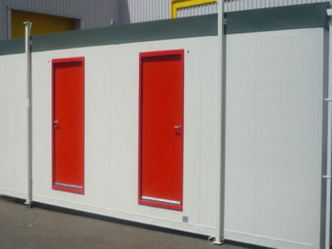 Construction Control Guidelines for Site Offices And Temporary Facilities in Site Logistics