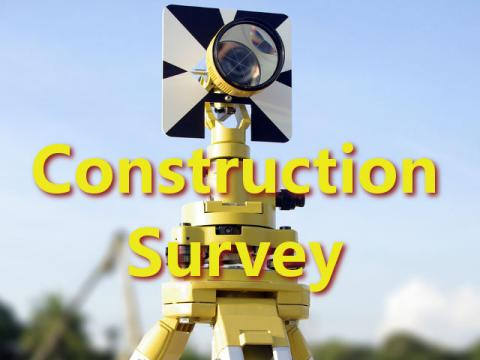 Construction Control Guidelines For Survey