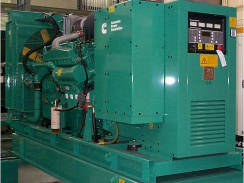 Emergency Power Diesel Generating Set (Image Credit: www.cummins.com)