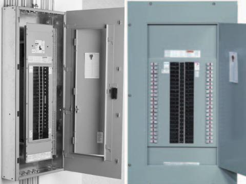Lighting Distribution Boards In Electrical Construction Works