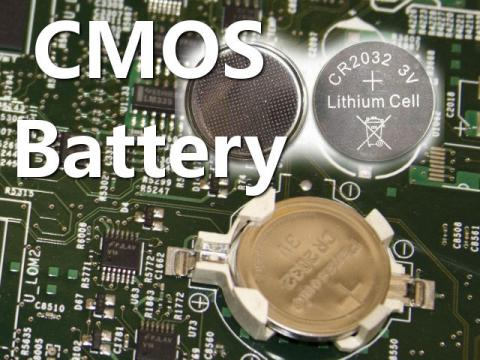 CMOS Battery And Its Usage