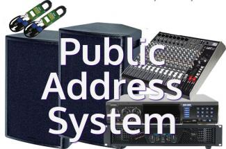 Public Address System In Electrical Construction Contract